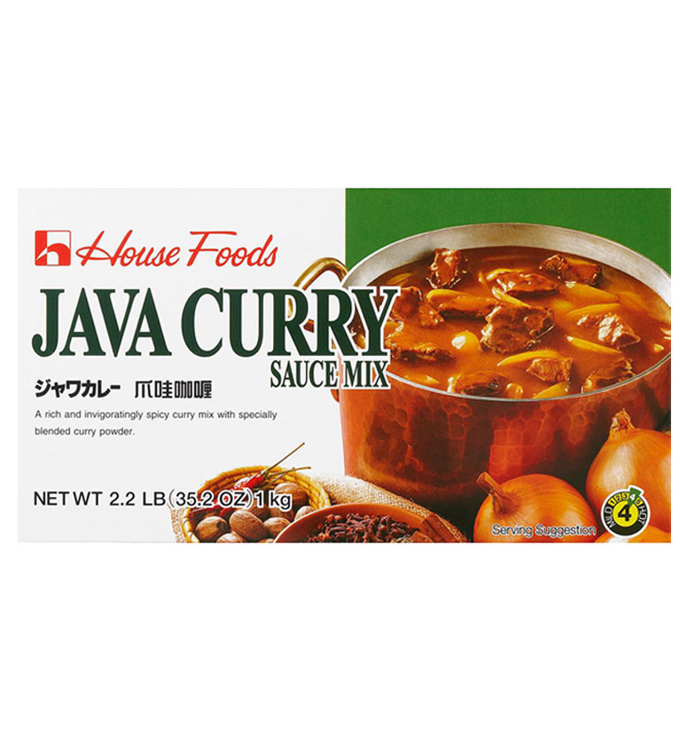House Foods Java Curry Sauce Mix (Institutional) 1kg
