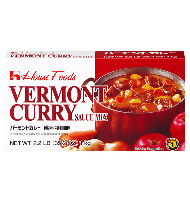 House Foods Vermont Curry Sauce Mix (Institutional) 1kg